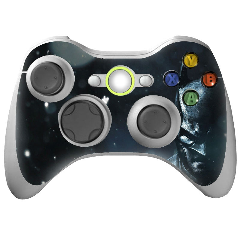 Colorskin high quality cover decal for xbox 360 controller PVC skin sticker for xbox 360 controller for xbox-360-games