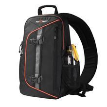 K & F CONCEPT wysokiej jakości wodoodporny aparat nylonowy torba na ramię trzymaj 1 aparat + małe przedmioty z osłoną przeciwdeszczową do Canon Nikon Sony