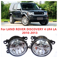 For LAND ROVER DISCOVERY 4 LR4 LA  2010-2013  10W Fog Light LED DRL Daytime Running Lights Car Styling lamps