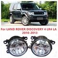Para LAND ROVER DISCOVERY 4 LR4 LA 2010-2013 10 W Luz de Niebla del LED DRL Daytime Running Lights Coche lámparas de estilo
