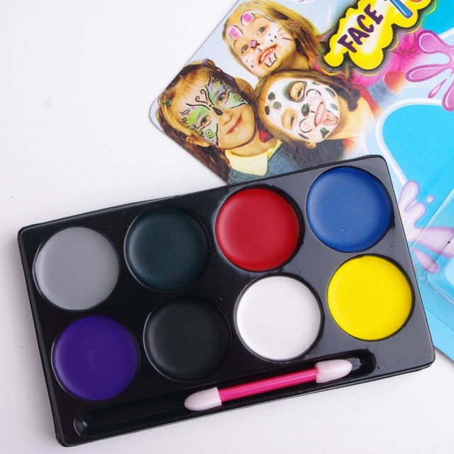 Body face paints Halloween makeup children face watercolor safe ...