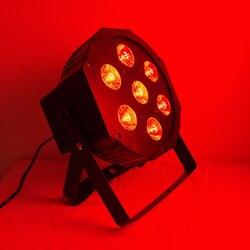 2019 high quality par 36 wash light rgb tri 7 par light led with fast shipping