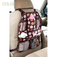 COLORLAND Baby Car Seat Accessories Baby Stroller Organizer Bag Baby Carriage Cup Holder For Pram Brand