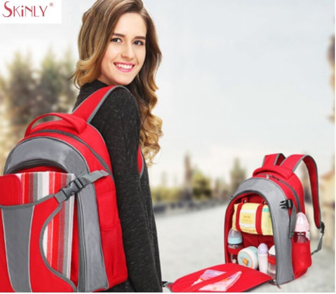 Fashion Mummy Maternity Nappy Bags Brand Large Capacity Baby Picnic Bag Travel Backpack Desinger Nursing Bag for Baby Care