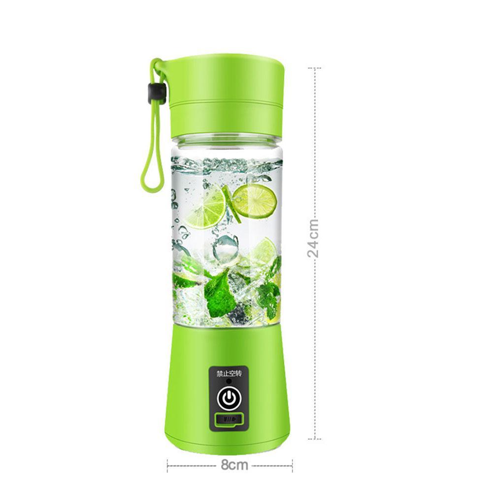 Adoolla 380 Ml taza-forma eléctrica multifuncional exprimidor Mini mezclador verduras frutas escariadores botella