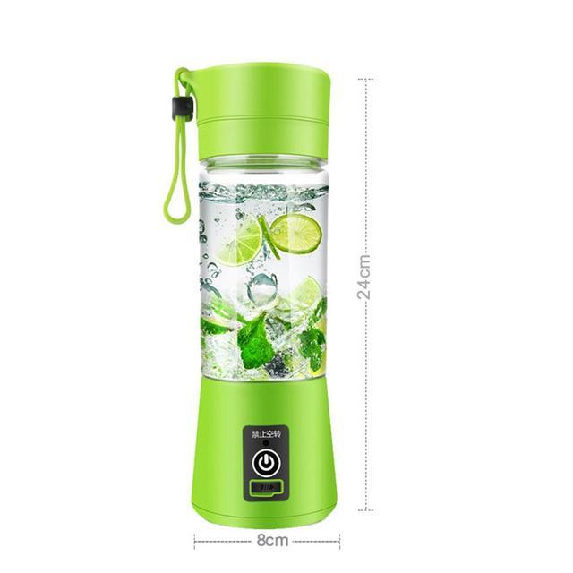Adoolla 380 мл Многофункциональный Электрическая чаша-Форма соковыжималка мини-миксер переносной блендер овощи фрукты соковыжималки конусная соковыжималка