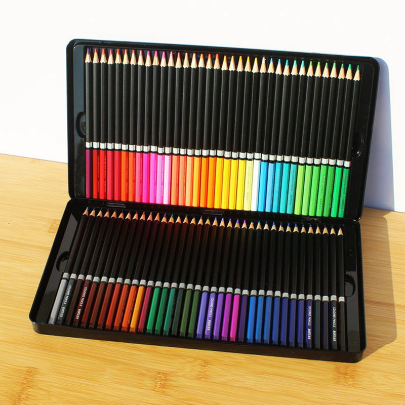 BAOKE 72 color oily color pencil student office art grade art painting penBAOKE 72 color oily color pencil student office art grade art painting pen