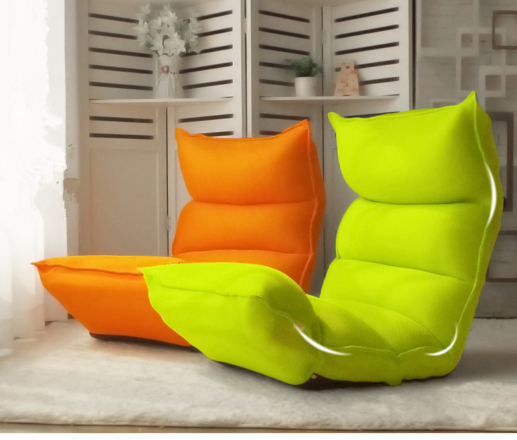 Mesh Fabric Lounge Chair Living Sofa Home Furniture Sleeper Daybed  Floor Seating Adjustable Headrest Multi-Functional Chaise high quality folding sofa bed living room furniture lounge chair lazy sofa relaxing window corner sofa folding floor chair