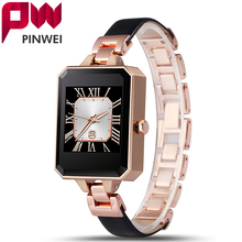 PINWEI Bluetooth Smart Watch Women Smartwatch For Apple For iPhone Android Phone With Heart Rate Monitor