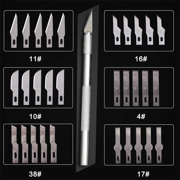 Mes Scalpel Slip Metalen Hout Ambachten Snijden Mes Diy Carving Tool Carving Mes Model Onderhoud Scalpel Art Supplies