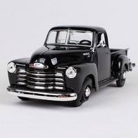 Maisto 1:25 1950 Chevrolet 3100 black red pick up big truck model 200*80*73mm truck pick up vehicle diecast car model 31952