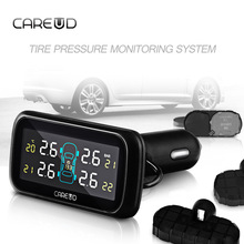Brand CAREUD Profession Auto Tire Pressure Alarm Sensor 4 Internal Sensors Tire Pressure Monitoring System TPMS Diagnostic Tool