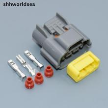 shhworldsea 10sets 3pin Ignition Coil Connector Plug Harness clips Case For Nissan Skyline sr20 rb20 rb25 rb26