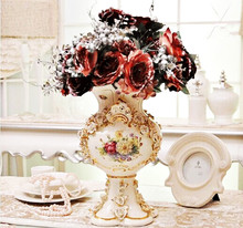 Ceramic vase creative home living room crafts gifts