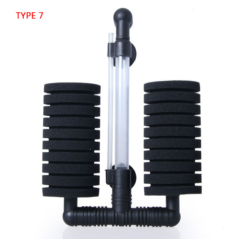 Aquarium Filter Aquarium Luftpumpe Abschäumer Biochemischer Schwammfilter Aquarium Filter Filter Aquatic Pets Products