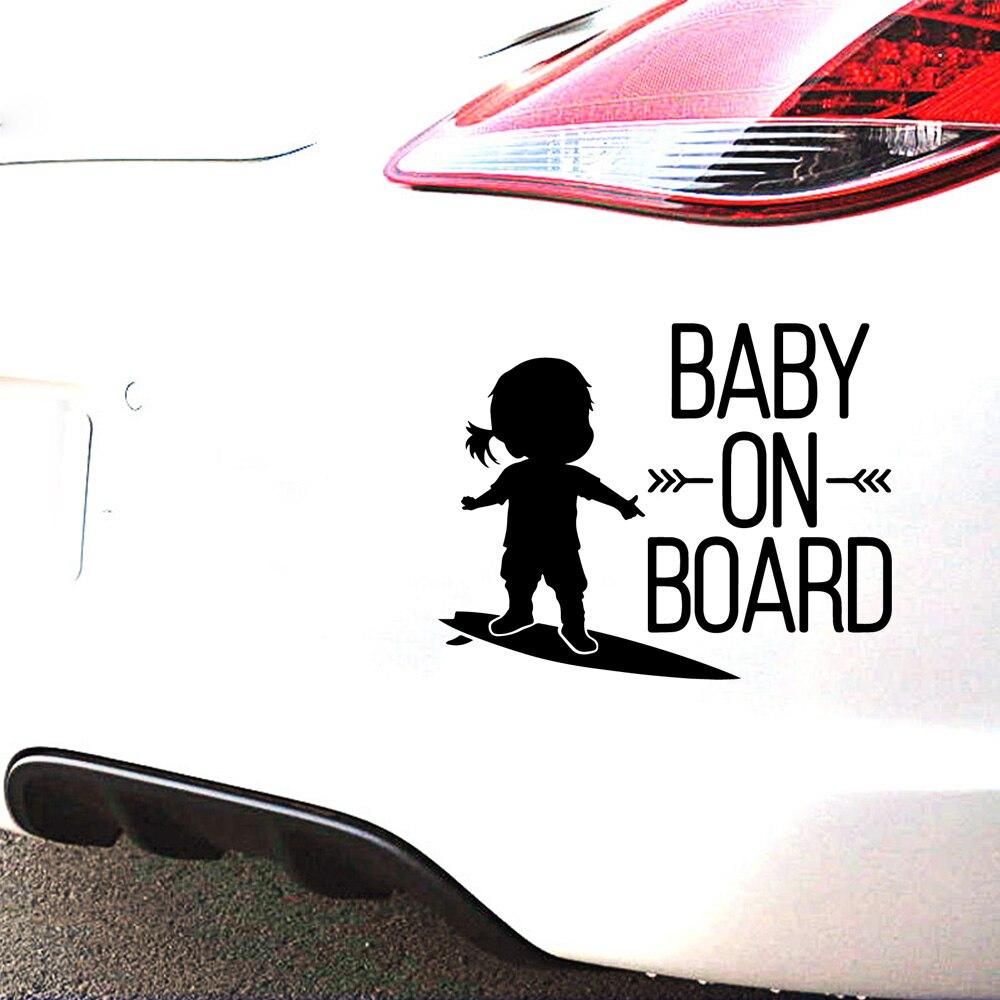 Autocollants et autocollants de voiture bébé à bord   Mignon, en vinyle, autocollants Auto, Art Cars, citation Windows décor pare-brise arrière moderne