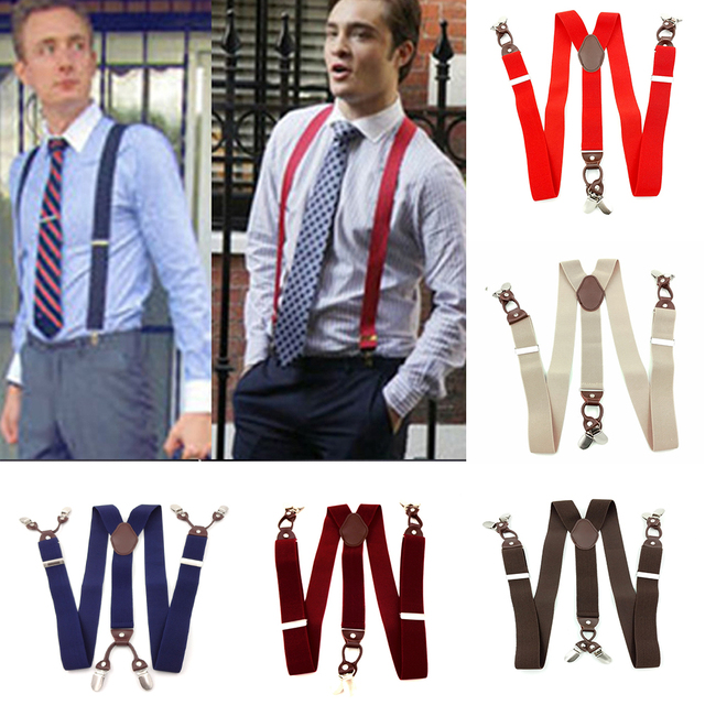 6 Clips Casual Suspenders 5