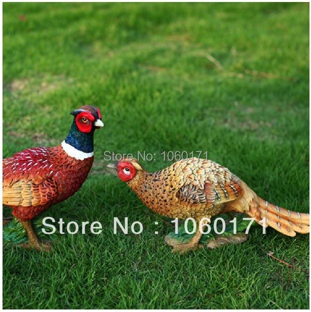 NEW! Pheasant Garden or patio ornament weatherproof 32x10x23cm