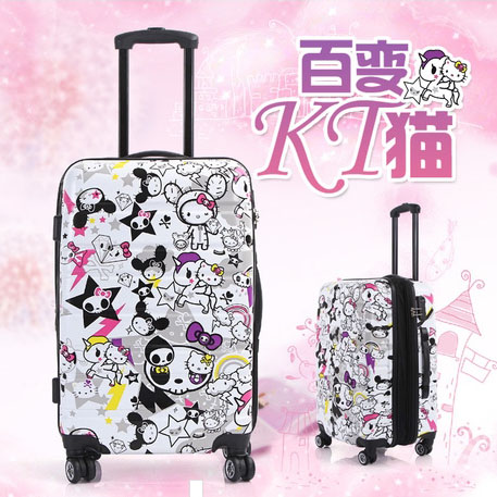 Online Buy Wholesale hello kitty luggage trolley from China hello ...