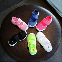 MHYONS Candy Color Kids Shoes Summer Breathable Mesh Childre