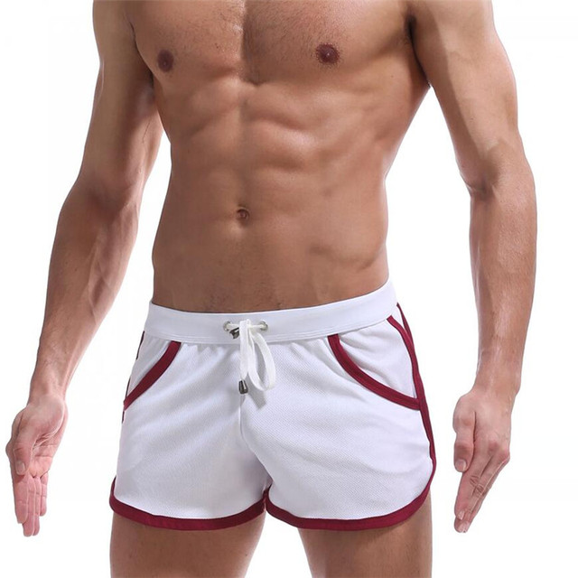 Factory direct summer men's polyester sporting shorts Gyms men bags Homme Short Masculino Bermudas Masculina De Marca