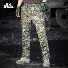 51783 2016 Brand Men Clothing Camouflage Cargo Trousers Male Outdoor Training Tactical Man Pantalon Homme Military Pants