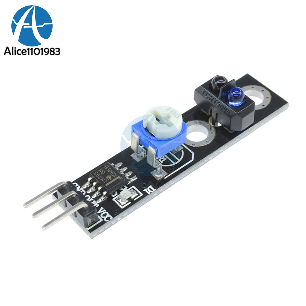 Tcrt5000 Infrared Reflection Sensor Line Track Module Digital Switch How To Build A Voltage Comparator Circuit Using An Lm393 Output 33v With Potentiometer Adjustable In Integrated Circuits From