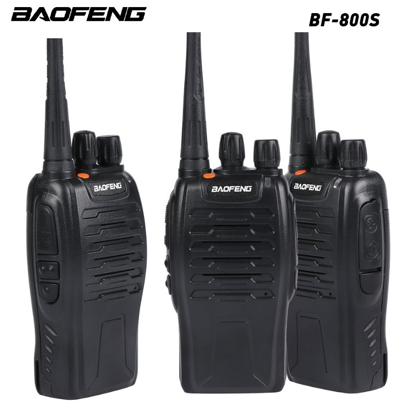 1pcs Baofeng BF-800S Portable Walkie Talkie UHF400-470MHZ Two Way Talkie For Hotel Travel Adventure Construction Site EU/US Plug