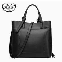 купить Bags Genuine Leather Handbags Women Famous Brands Real Leather Hand Bill Of Lading Shoulder Bags Designer Handbags High Quality по цене 2930.98 рублей