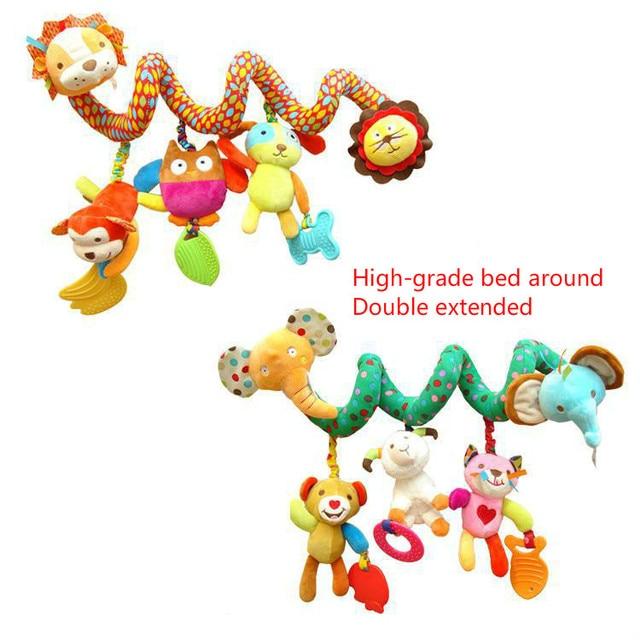 Младенцев и маленьких детей развивающие игрушки от 0 до 24 месяцев животные вокруг с рулона бумаги кольцо тон инструмента двуспальная кровать плюс