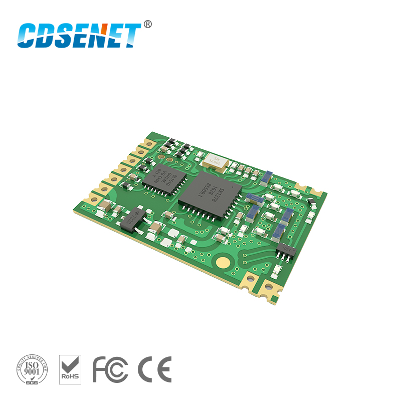 LoRa SX1278 433 Mhz transceptor de rf para E32-433T20S1 SMD 3 km de largo alcance 433 m UART puerto serie rf transmisor y receptor