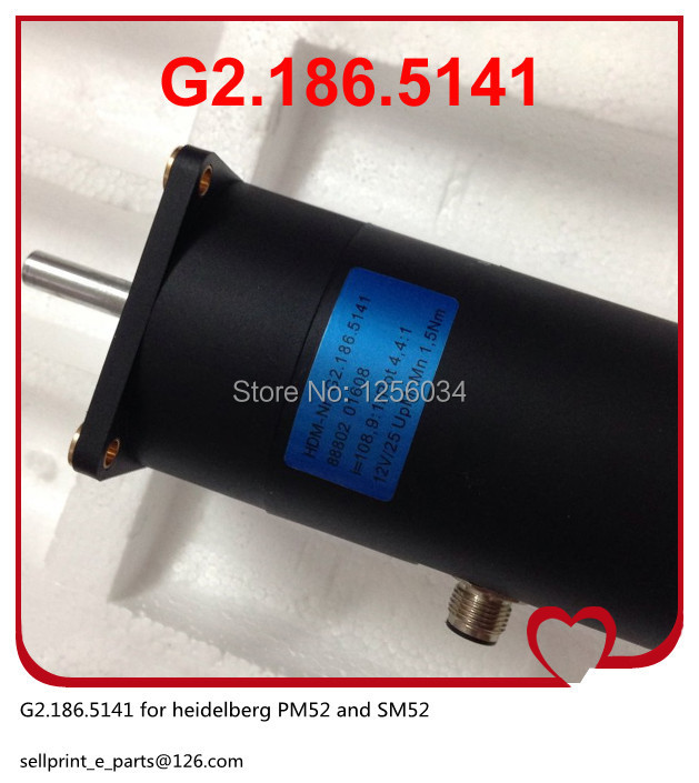 2 pieces heidelberg motor G2.186.5141
