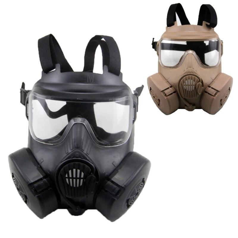Paintball tactique Airsoft jeu Protection du visage masque de sécurité garde M50 masque à gaz