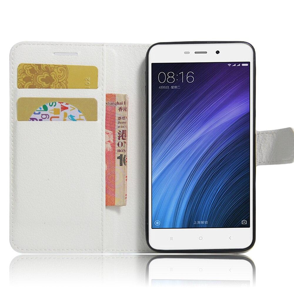 Xiaomi redmi 4A Funda de 5.0 pulgadas Funda de cuero de lujo de la PU - Accesorios y repuestos para celulares - foto 2