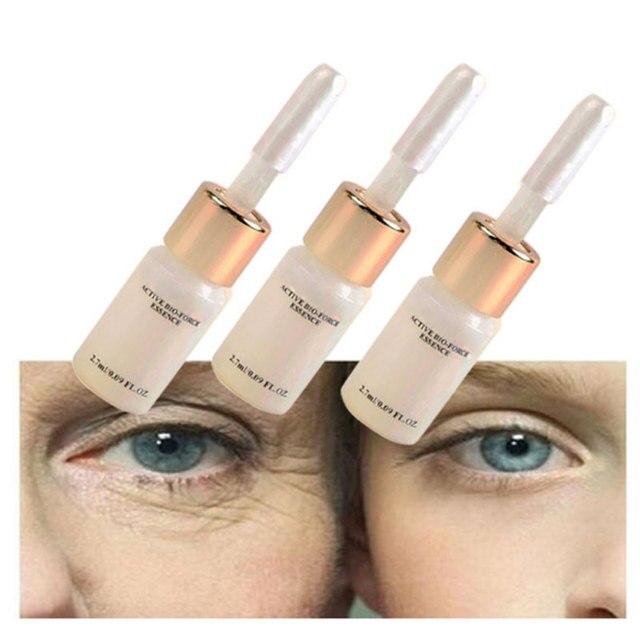 3 adet/kutu Serum Ürünleri Sihirli Anti Aging, Anti Kırışıklık Sıvı Asansör Yüz Kremi Argireline Krem hiyalüronik asit Serum