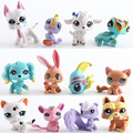 12pcs/set Littlest Pet Shop Toys LPS Figures Animals Patrol Dogs Action Figure 4-5CM Kids Children'S Birthday Gift Kids Toys