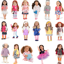 Clothes For Doll 17 Styles Our Generation Outfits Include Shoes Glasses Tights Socks All Accessories For 18inch American Doll