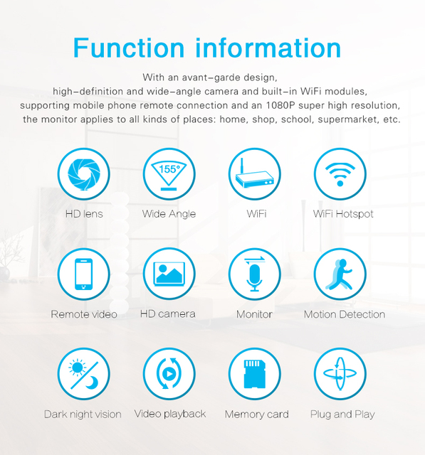 Mini WiFi Camera HD 1080P Night Vision Motion Sensor Micro Cam DVR Video Voice Recorder Remote Camcorder DVR of Charger Socket 1