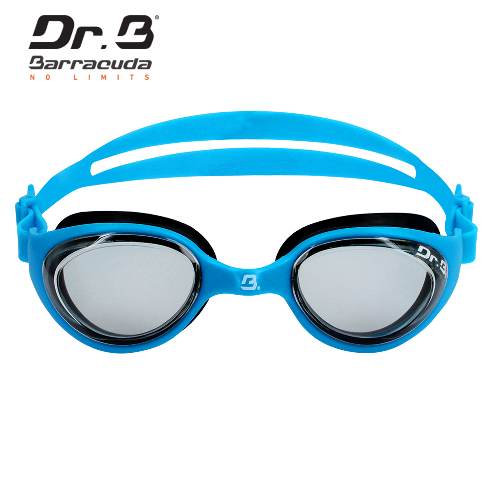 Barracuda Dr.B Junior Optical Swim Goggle FUTURE RX Corrective Lenses, Comfortable No leaking Easy adjusting BLUE #73195