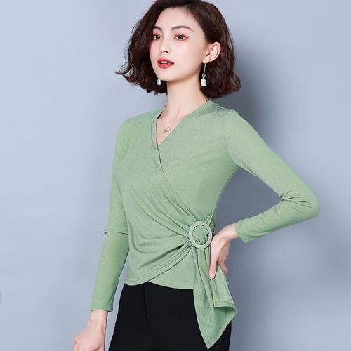 G495561New arrivée femmes vêtements couverture en dentelle femmes chemise N190909