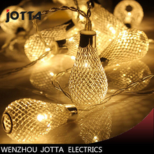 купить Outdoor metal lamp stringWire ball bubbleThe Christmas camp is decorated with colorful LED lights по цене 219.11 рублей