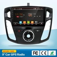 Четырехъядерный 2 din Android автомобильный DVD gps для Ford Focus 3 2012 с Bluetooth Radio RDS Wifi 3g хост внешний микрофон бесплатно 8 Гб карта