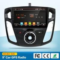Quad core 2 din android автомобильный DVD gps для Ford Focus 3 2012 с Bluetooth Радио RDS Wi Fi 3g хоста внешний микрофон Бесплатная 8 ГБ карта