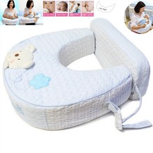 Baby Nursing Pillow 100%Cotton U-Shape Soft Comfortable Multi-functional Infant Breastfeeding Pillow Mummy Waist Support Cushion