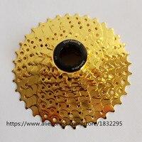 High Quality MTB Aluminum Alloy 9 10 11 Speed Bike Cassette Flywheel27 30 22 Speed Gold