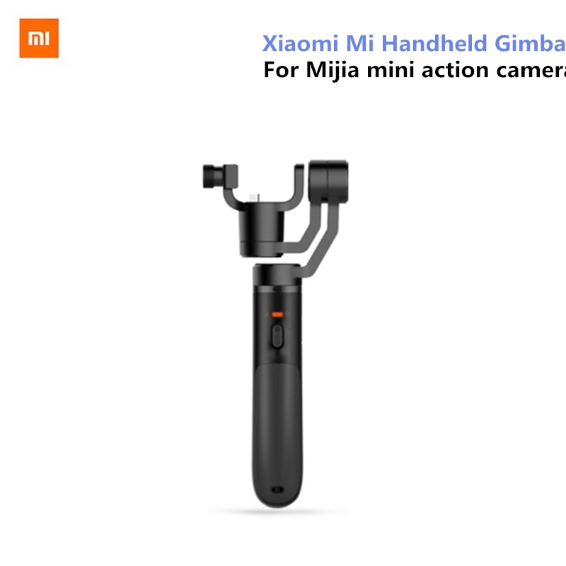 Xiao mi Handheld Gimbal acción Cámara 3 ejes cardanes sin escobillas para mi jia mi ni deportes Cámara VS Feiyu tecnología ZHI Yun