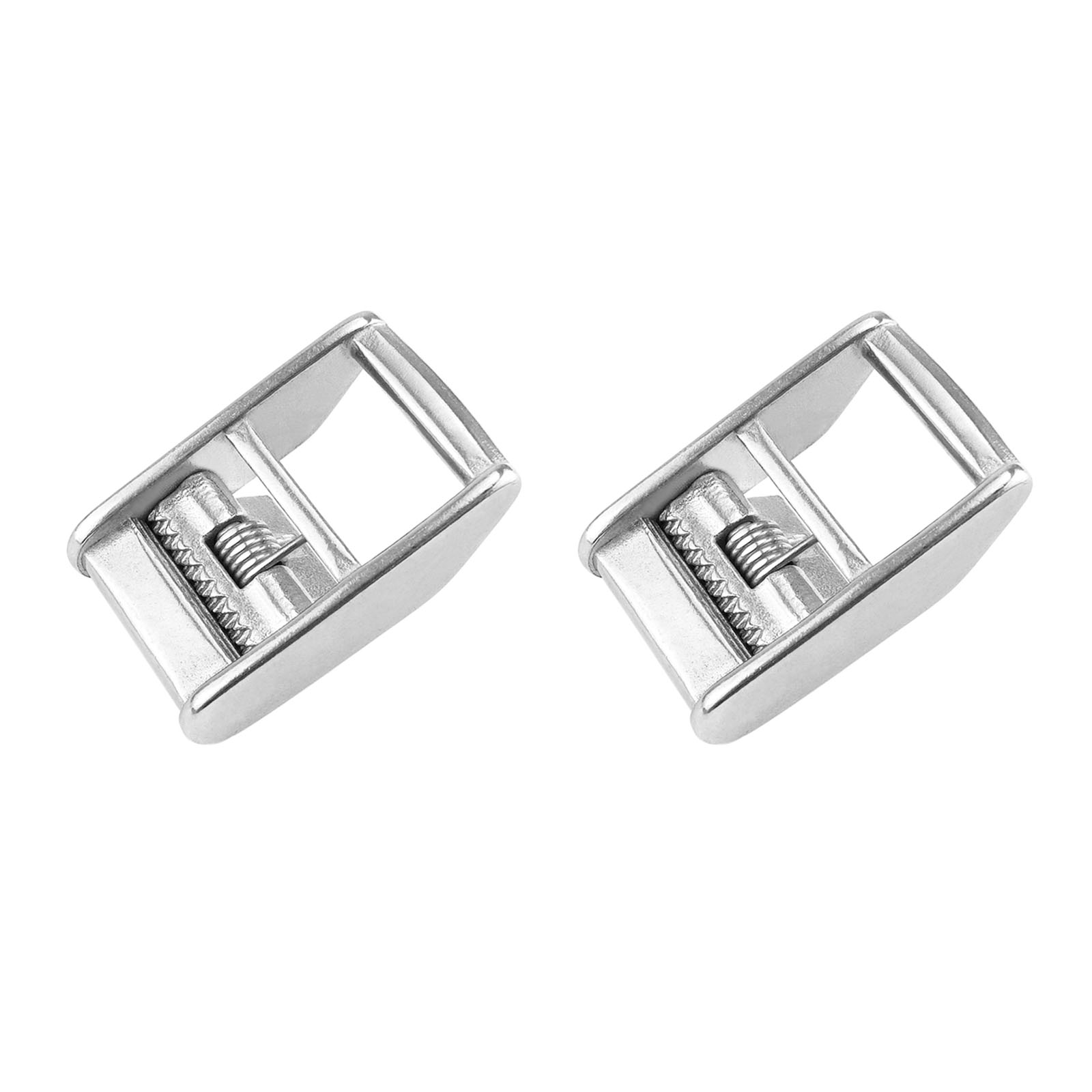 2Pcs Stainless Steel 316 Cam Buckle Ratchet Buckle For 1