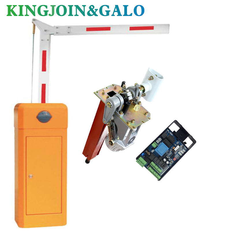 Degree Barrier Gate For Car Parking With Remote Control Push Button