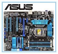 Envío gratis original ASUS P8P67 motherboard DDR3 P67 LGA 1155 32G juntas SATA3.0 USB3.0 placa madre de Escritorio