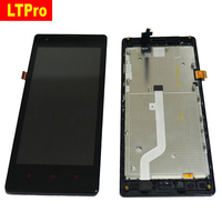 Black Redmi 4 7 LCD Display Assembly Touch Screen Digitizer With Frame For Xiaomi Red Rice